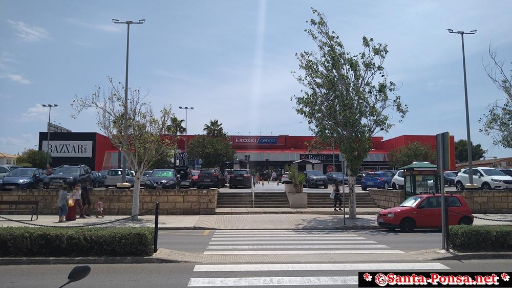 EROSKI - hat nichts mit Erotik zu tun - es ist ein Supermarkt in Santa Ponsa