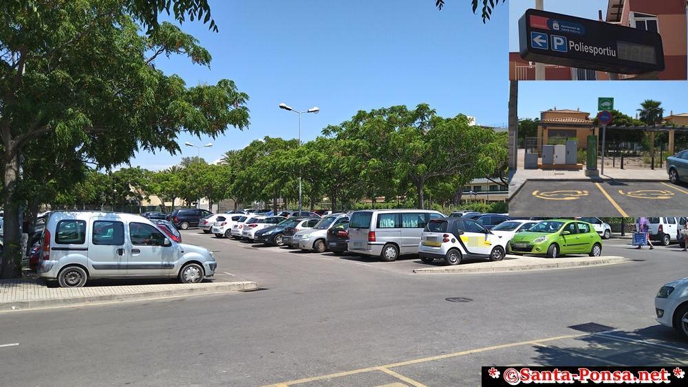 Öffentlicher Parkplatz am Sportplatz (kostenfrei Parken)