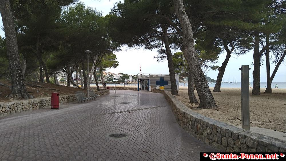Strandweg zum La Pinada in Santa Ponsa