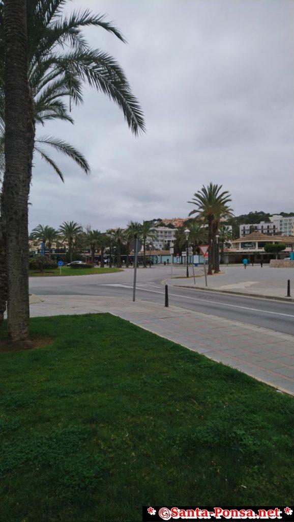 Santa Ponsa - Blick zur Plaza Santa Ponsa