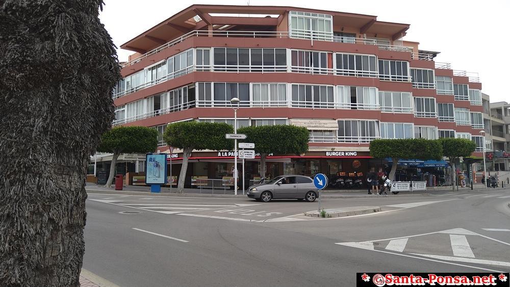 Burger King in Santa Ponsa, ganzjährig geöffnet