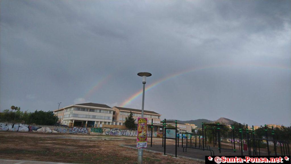Santa Ponsa Regenbogen - Blickrichtung Son Bugadelles (Schule)
