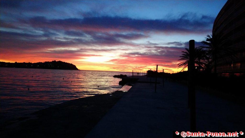 Sonnenuntergang in Santa Ponsa