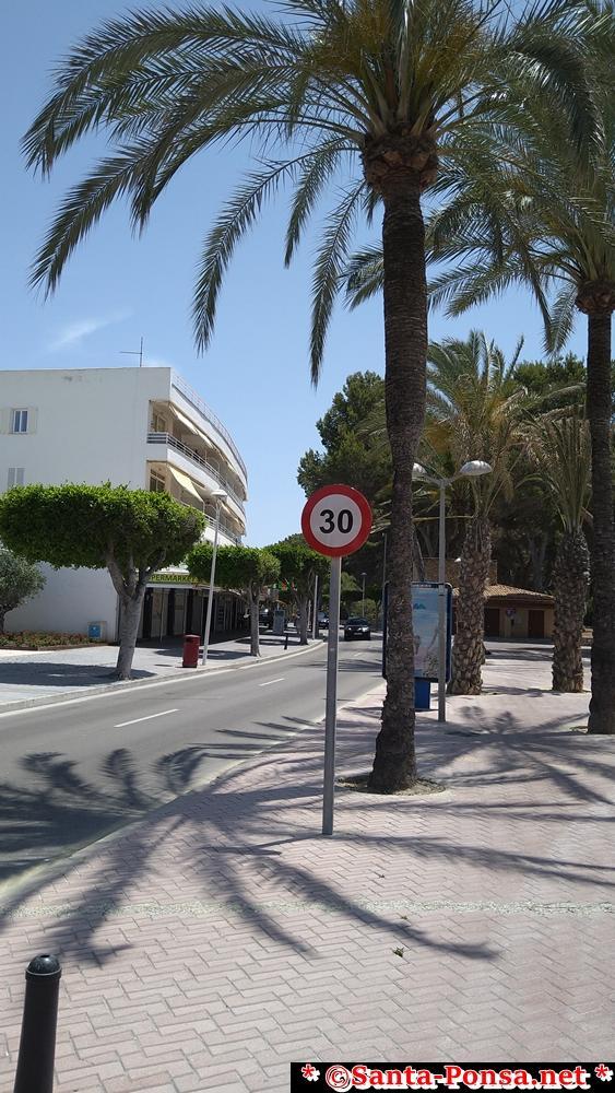Auf den meisten innerstädtischen Straßen Mallorcas, gilt ab 2021 Tempo 30
