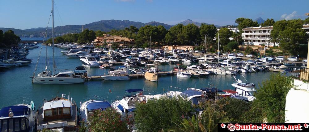 Sportboot und Yachthafen Santa Ponsa